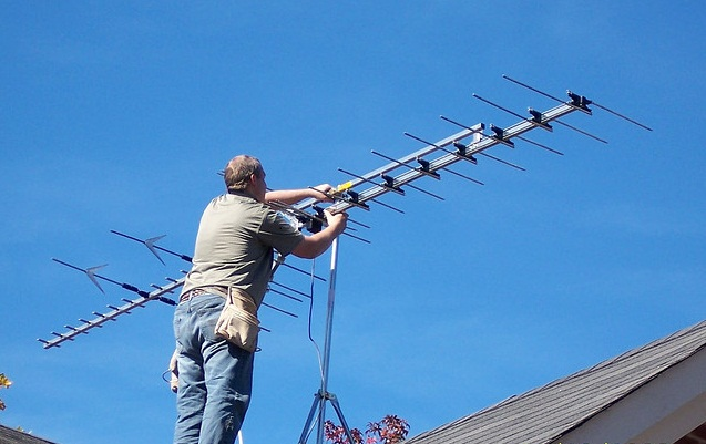 Установка спутниковой антенны на даче своими руками